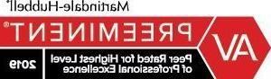 Martindale Hubbell AV 2019 logo